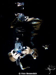 &quot;UW Photographer v/s the Squids&quot; by Rico Besserdich 